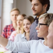 Team Post-Its Scrum Change Kommunikation